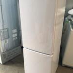ハイアール製2ドア冷蔵庫JR-NF173B-Wを査定させて頂きました。