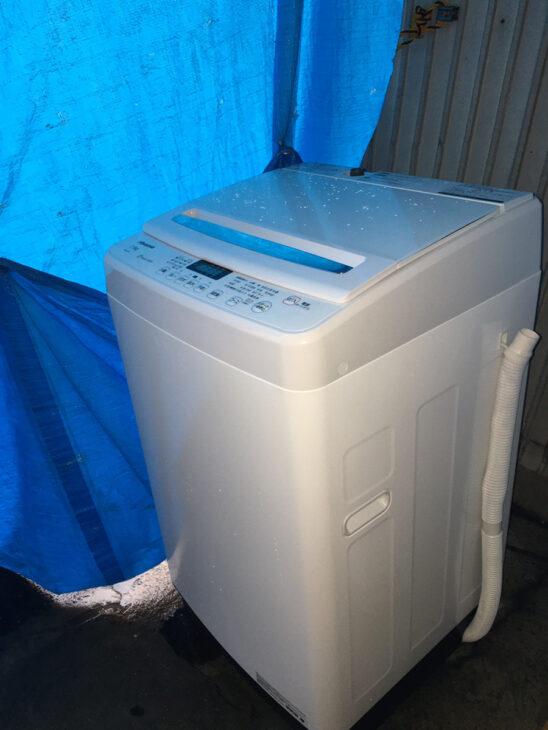 全自動洗濯機 ハイセンス HW-G75A 出張対応いたしました。