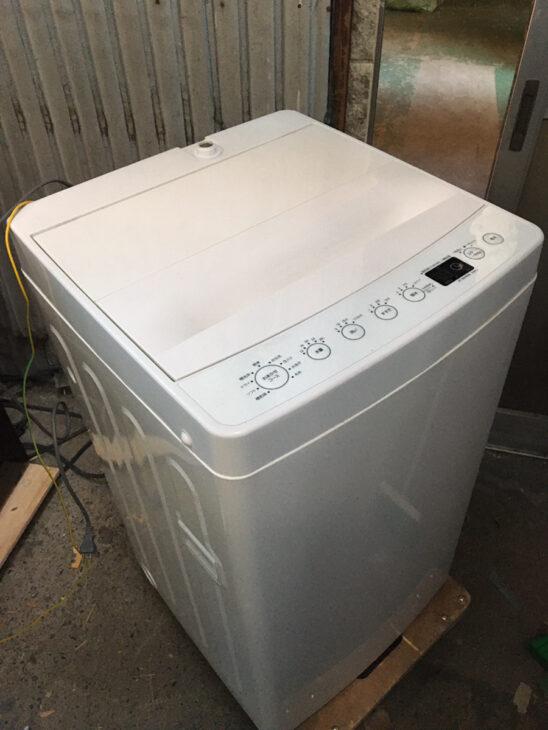 全自動洗濯機 アマダナ AT-WM45B お売りいただきました。