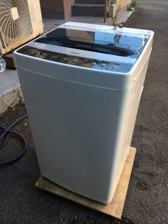 全自動洗濯機 ハイアール JW-C55A 査定に伺いました。