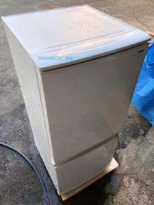 シャープ 2ドア冷凍冷蔵庫 SJ-D14D-W
