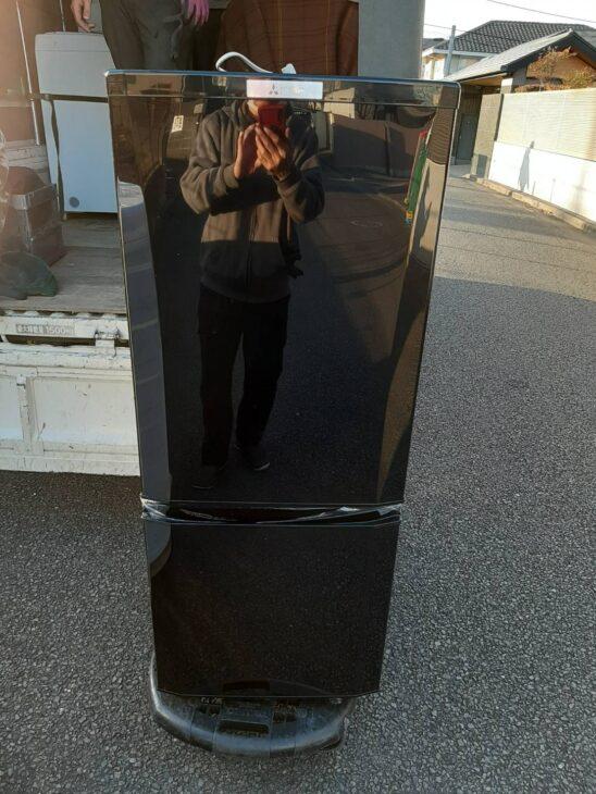 三菱2ドア冷凍冷蔵庫MR-P15E-Bの出張査定依頼を頂きました!!
