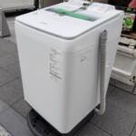 全自動洗濯機 パナソニック NA-FA80H5 出張対応いたしました。
