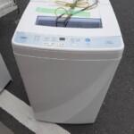 全自動洗濯機 アクア AQW-S60G 査定に伺いました。