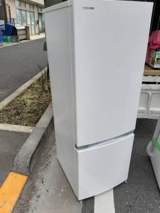 東芝(TOSHIBA)2ドア冷凍冷蔵庫GRM17BS他 洗濯機1点を査定致しました