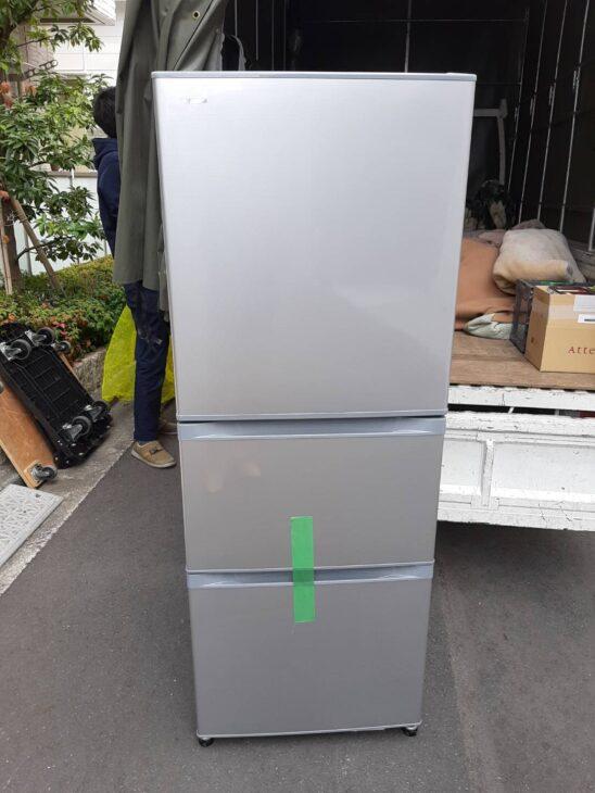 東芝3ドア冷蔵庫GR-M33Sを出張にて査定致しました!