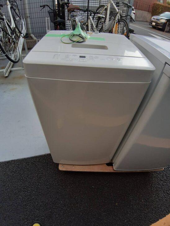 洗濯機 無印良品 MJ-W50A  査定にお伺いしました。