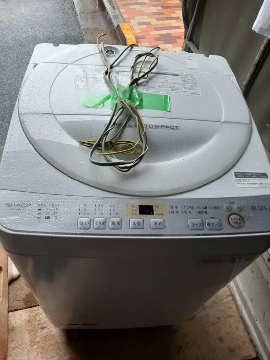 全自動洗濯機 シャープ ES-GE6C その他1点 お売りいただきました。