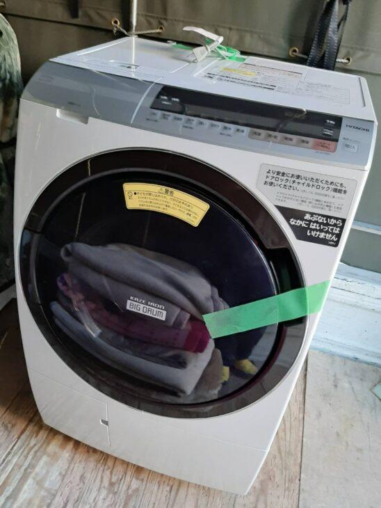 ドラム式洗濯乾燥機 日立 BD-SX110CL 高額で査定いたしました!