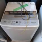 洗濯機 アクア AQW-S50HBK 他冷蔵庫 お売りいただきました。