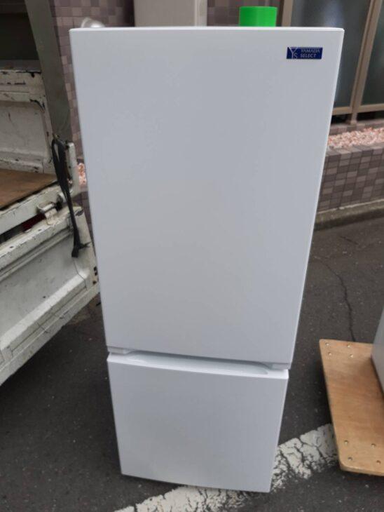 ヤマダ製の冷蔵庫YRZ-F15G1、洗濯機を出張査定しました。