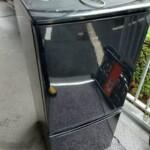 2ドア冷凍冷蔵庫SJ-D14B-Bをお引き取り致しました