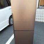 冷蔵庫SJ-PD27Y-T、ドラム式洗濯機をお売りいただきました。