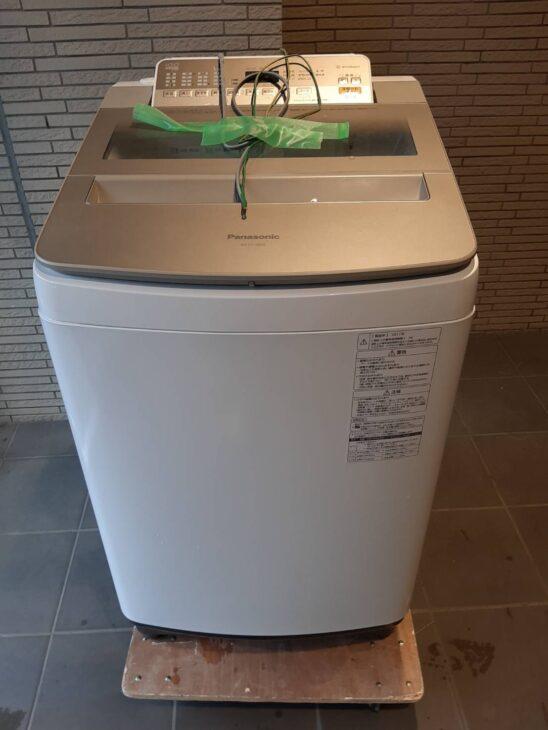 パナソニック 洗濯機 NA-FA100H5 の出張査定に伺いました