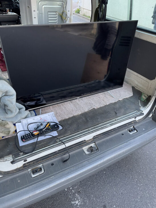 4K 43型 液晶テレビをお売りいただきました