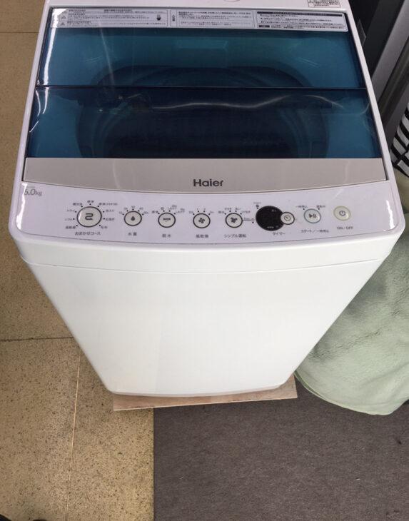 全自動洗濯機 ハイアール JW-C60A 出張対応いたしました。