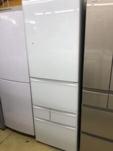 ノンフロン冷凍冷蔵庫 5ドア HITACHI GR-R41GXV(EW)