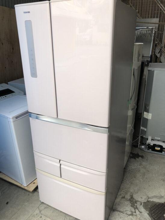 東芝6ドア冷凍冷蔵庫 GR-G48FSを出張査定致しました。