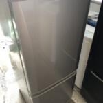 三菱MR-P15W-Sの冷蔵庫を無料で引き取りしました。
