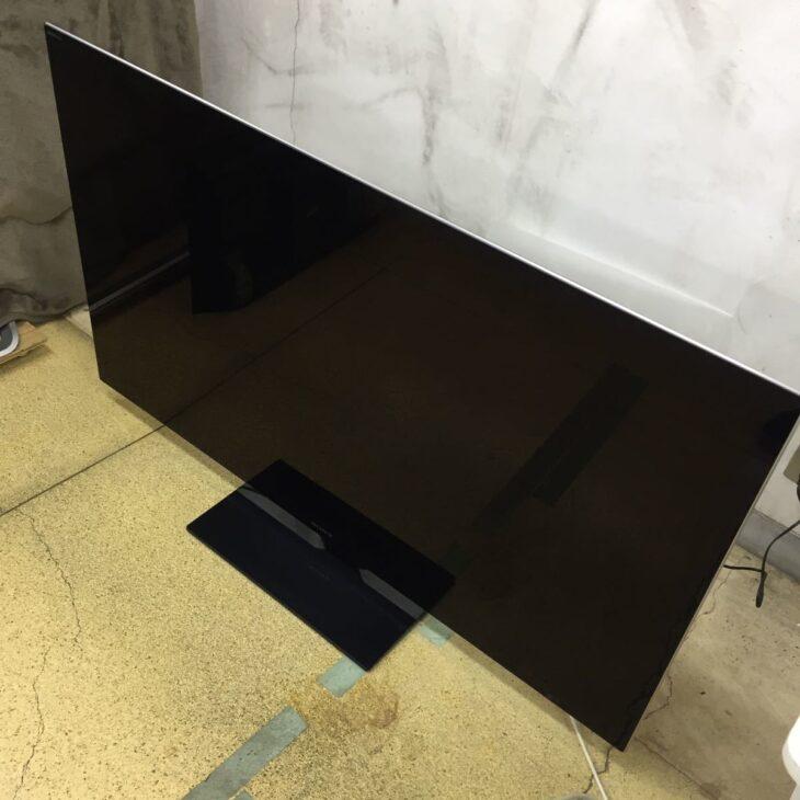 ソニー製液晶テレビ  KDL-55HX850 事前見積からご訪問