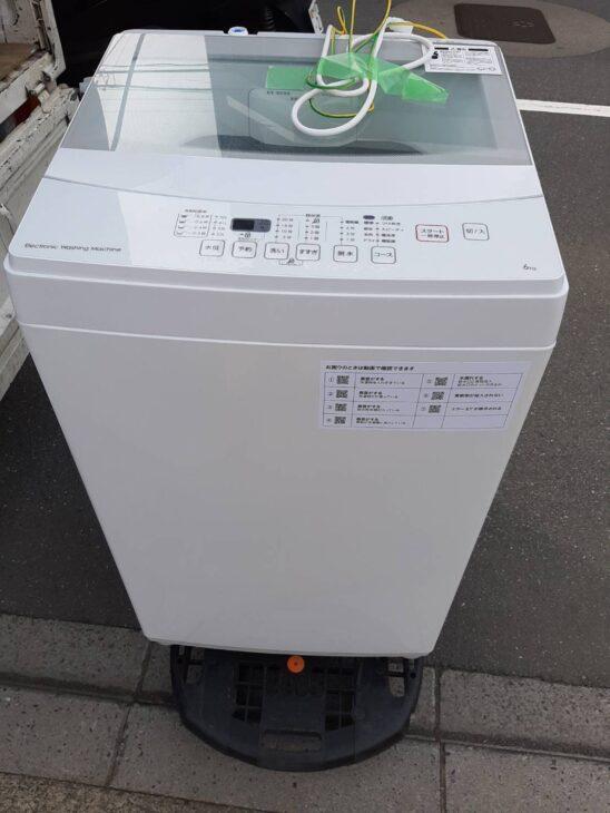 全自動洗濯機 ニトリ NTR60 出張に伺いました。