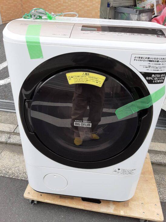 ドラム式洗濯乾燥機 日立 BD-NV120E 出張にお伺いしました。