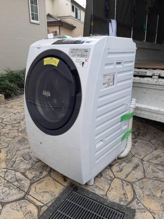 洗濯機 日立 BD-SG100L 他数点 出張にお伺いしました