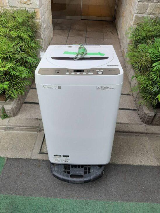 全自動洗濯機を出張にて査定いたしました