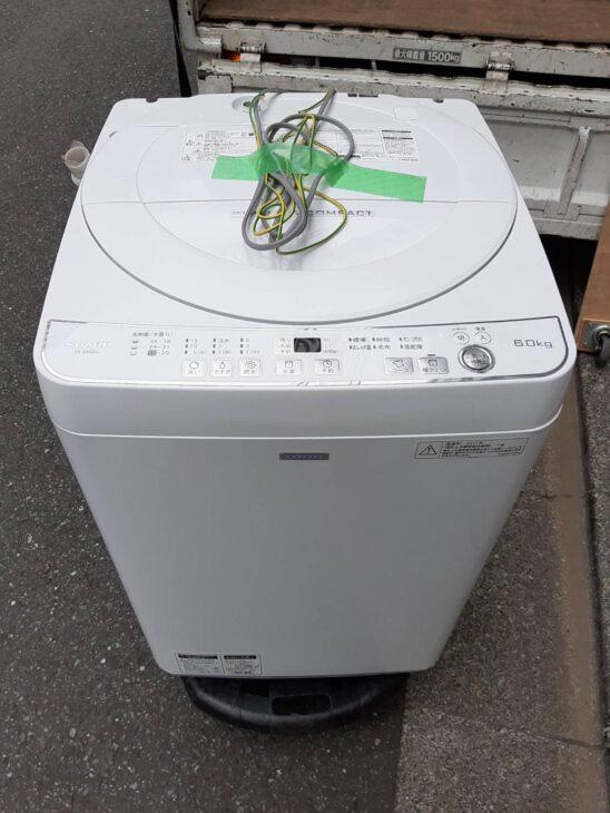品川区にてシャープ製洗濯機の出張査定にお伺いしました