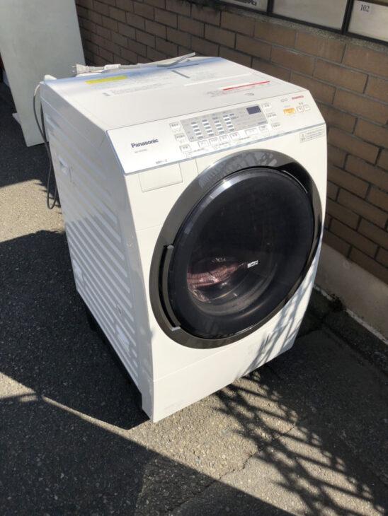 出張買取をしました(ドラム式洗濯機)
