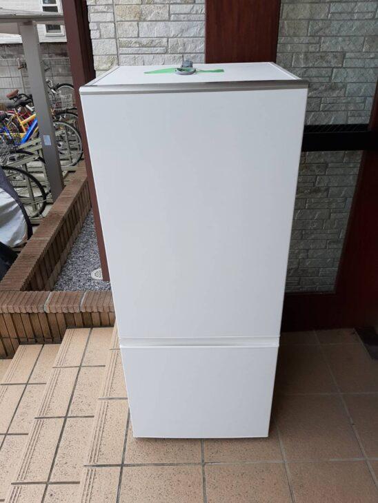 アクアの2ドア冷蔵庫AQR-BK18Fを出張査定しました