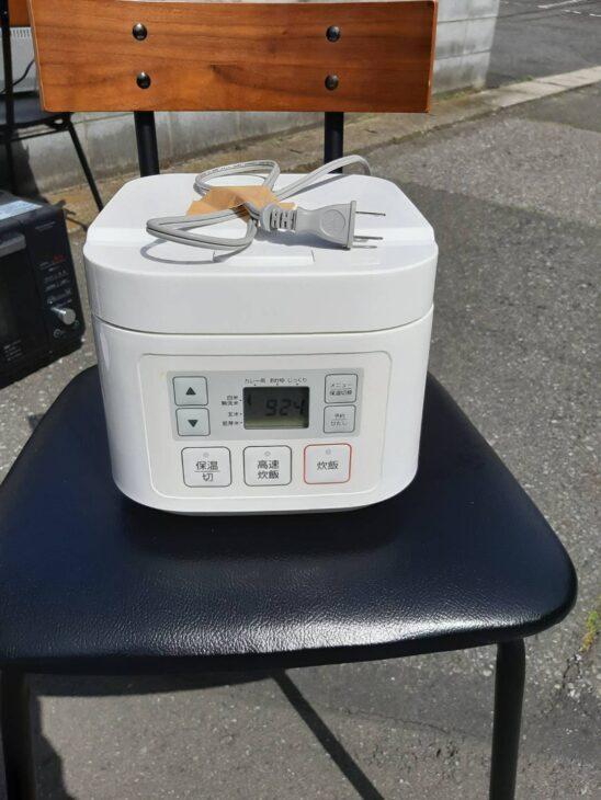 ニトリ炊飯器 家電複数お申し込みで出張致しました