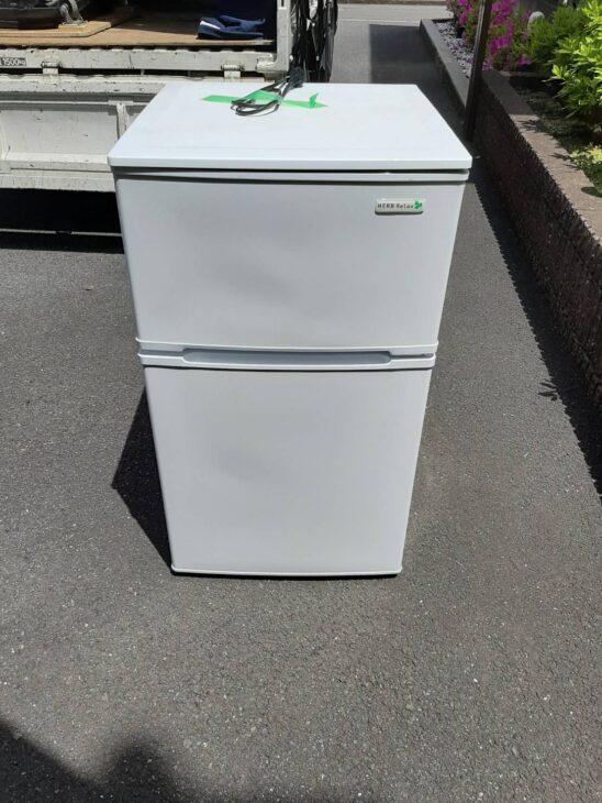 ヤマダ電機製2ドア冷蔵庫YRZ-C09B1 出張査定致しました