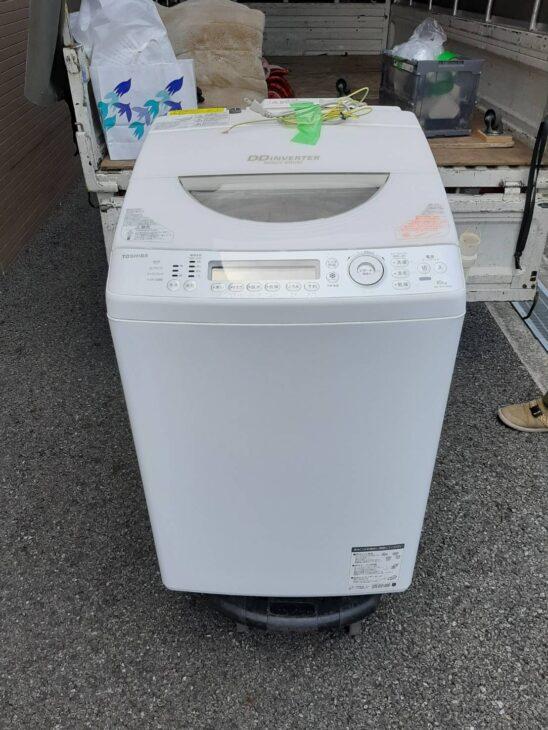 全自動洗濯機の査定をいたしました