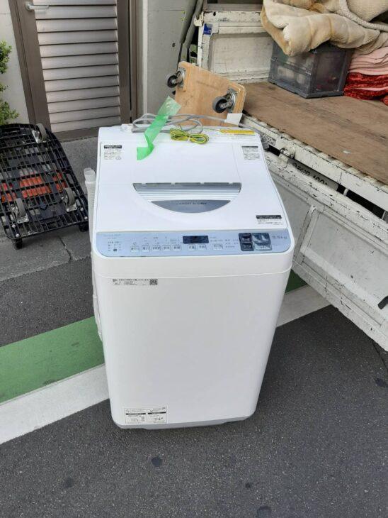 洗濯乾燥機(シャープ ES-TX5D-S)をお売りいただきました