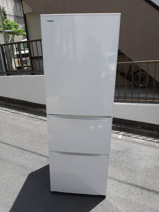 TOSHIBA製冷蔵庫などの査定を致しました