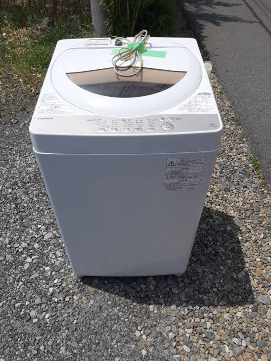 ハイアールの洗濯機をお売りいただきました!
