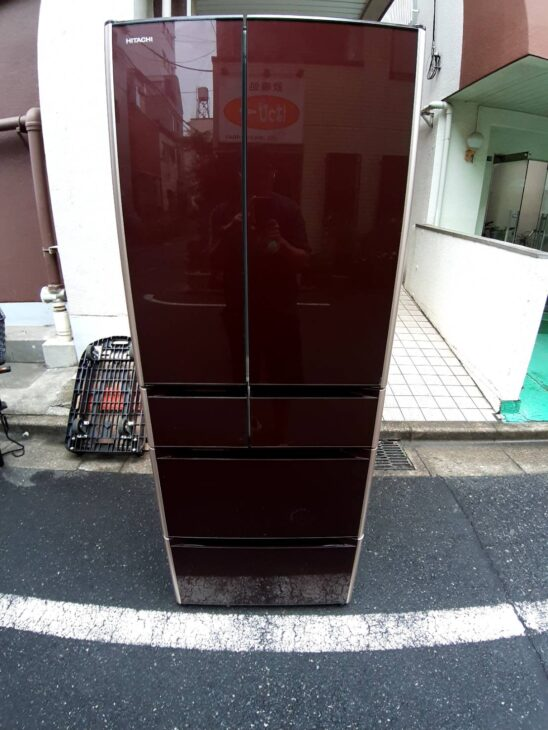 日立6ドア冷蔵庫R-XG5100Gをお売りいただきました