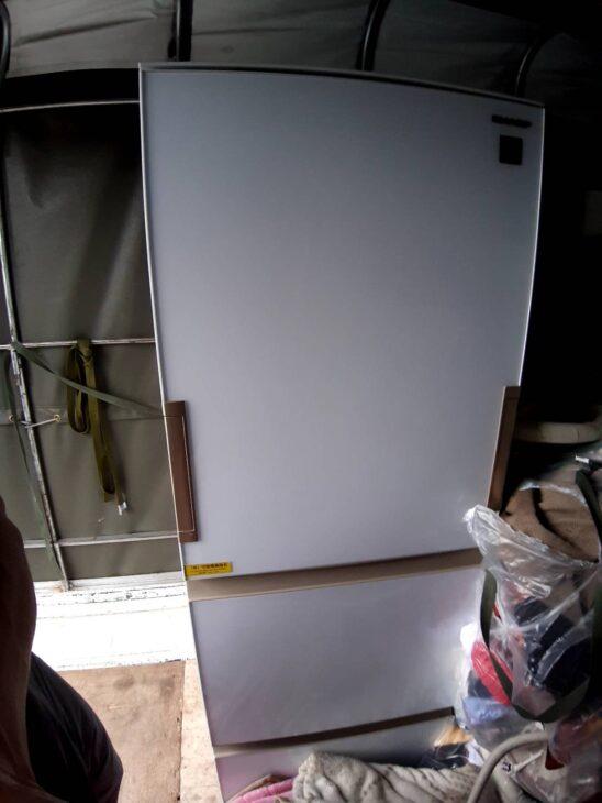 シャープ冷蔵庫SJ-GH36D-Wをお売り頂きました
