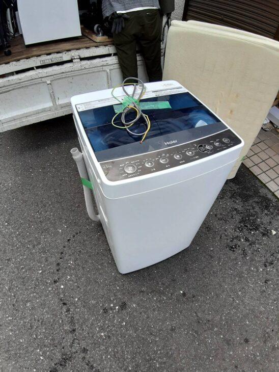 他社マイナス査定の洗濯機をお引取りいたしました
