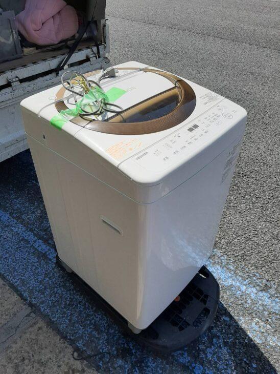 東芝 全自動洗濯機をお売りいただきました