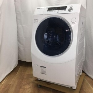 シャープ ドラム式洗濯乾燥機 ES-H10E-WL