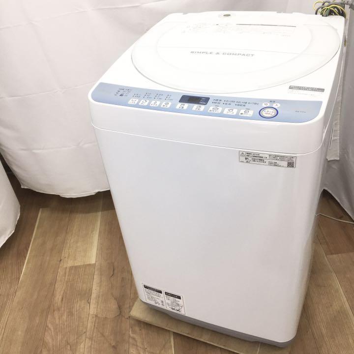 シャープ 全自動洗濯機 ES-T711-W