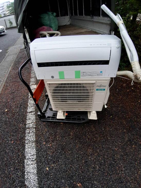 エアコン取り外し、リサイクルのご依頼を頂きました