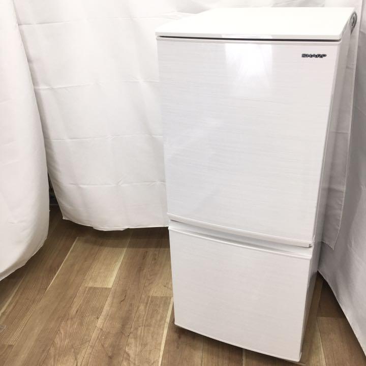シャープ 冷凍冷蔵庫 SJ-D14F-W