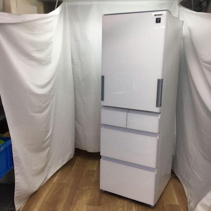 シャープ 冷凍冷蔵庫  SJ-GW41F-W