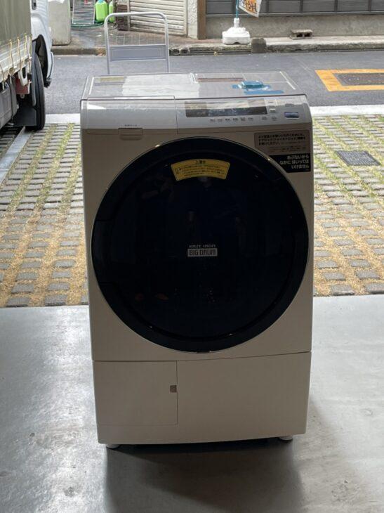 ドラム式洗濯機 日立 BD-SG100CL 出張に伺いました