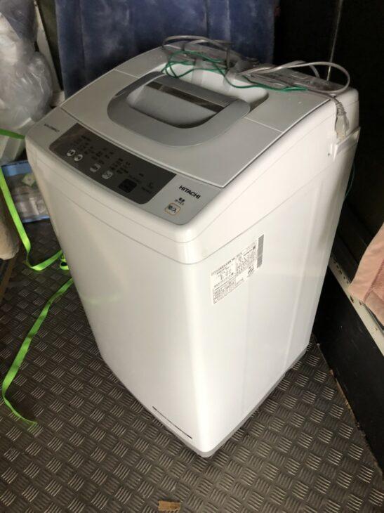 不用となった洗濯機含む単身用家電を出張査定しました
