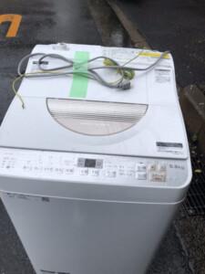 SHARP(シャープ)5.5キロ 電気洗濯乾燥機 ES-TX5B-N 2018