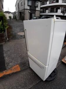 MUJI(無印良品)157L 2ドア冷凍冷蔵庫  MJ-R16A-1 2017